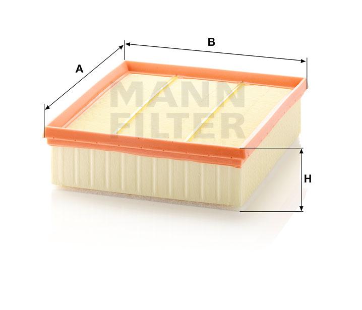 Luftfilter MANN-FILTER C 2295//2